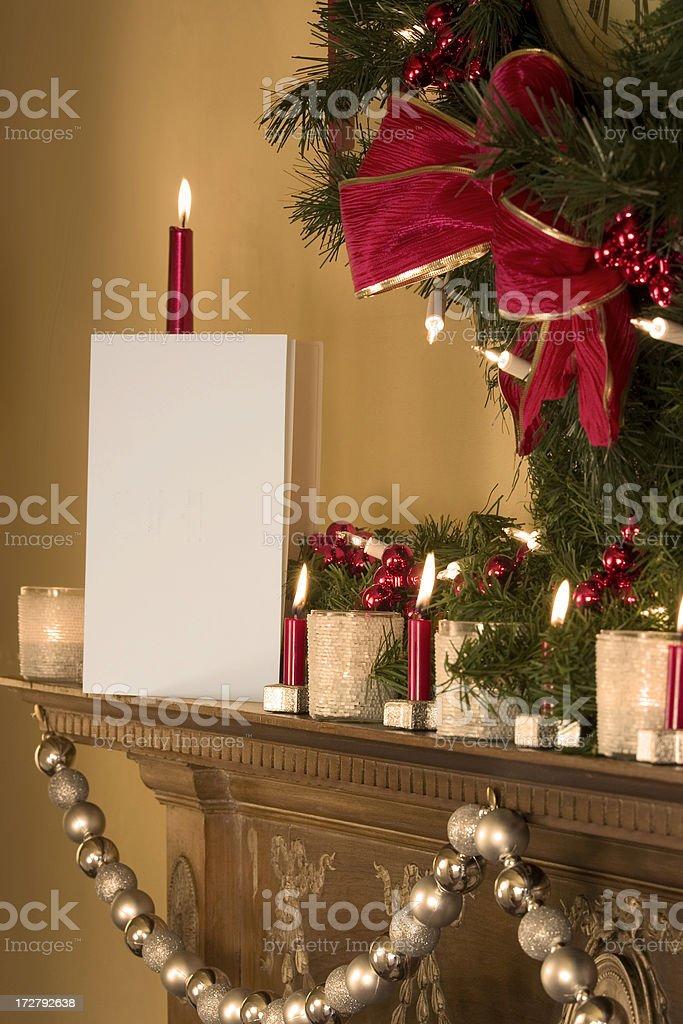 Christmas Card 2 royalty-free stock photo