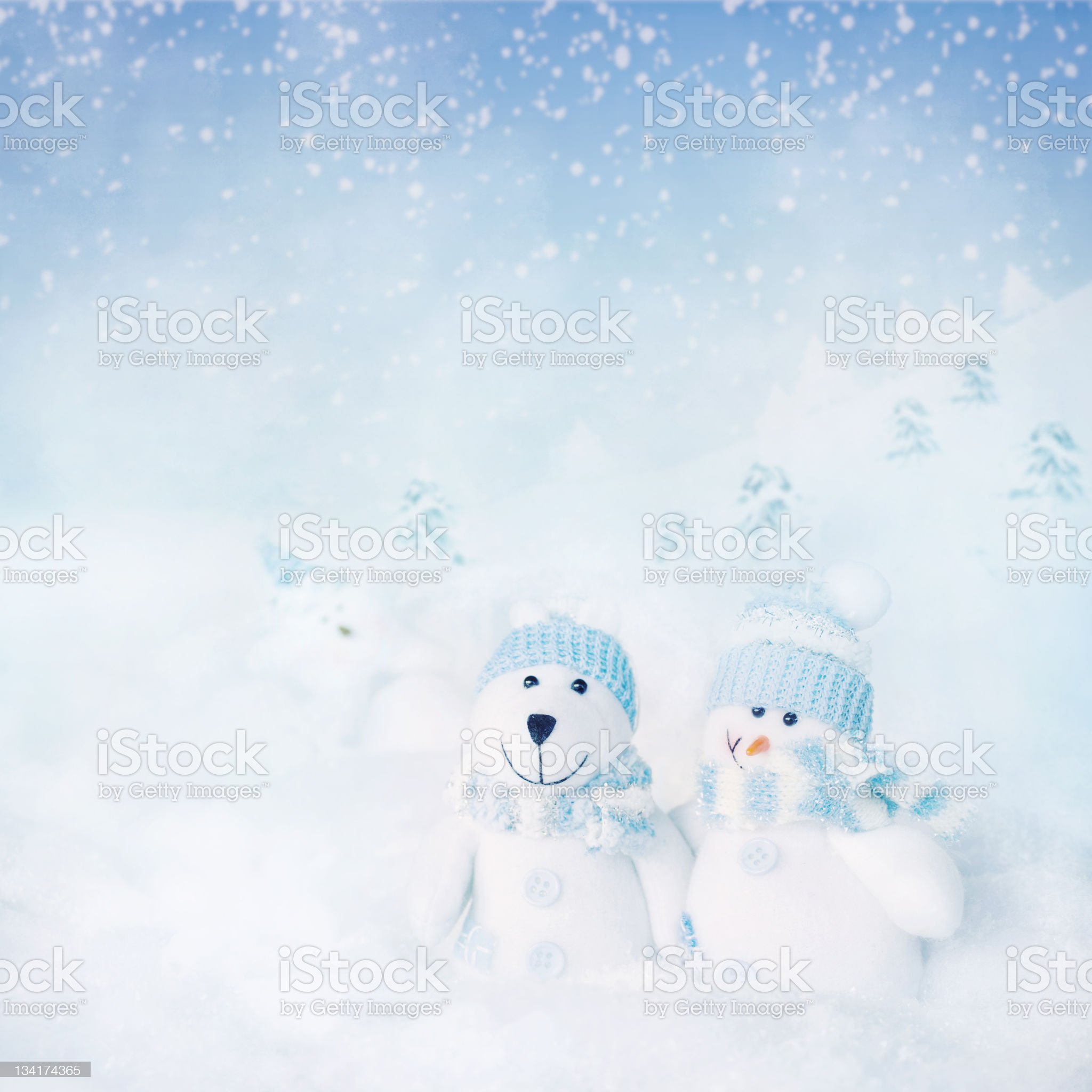 Christmas card. royalty-free stock photo