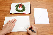 Christmas Card with Copy Space