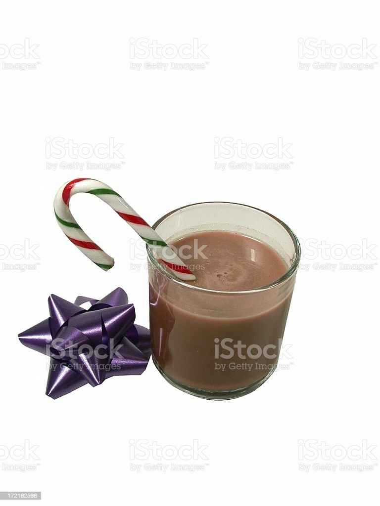 Christmas Cheer and Bow royalty-free stock photo