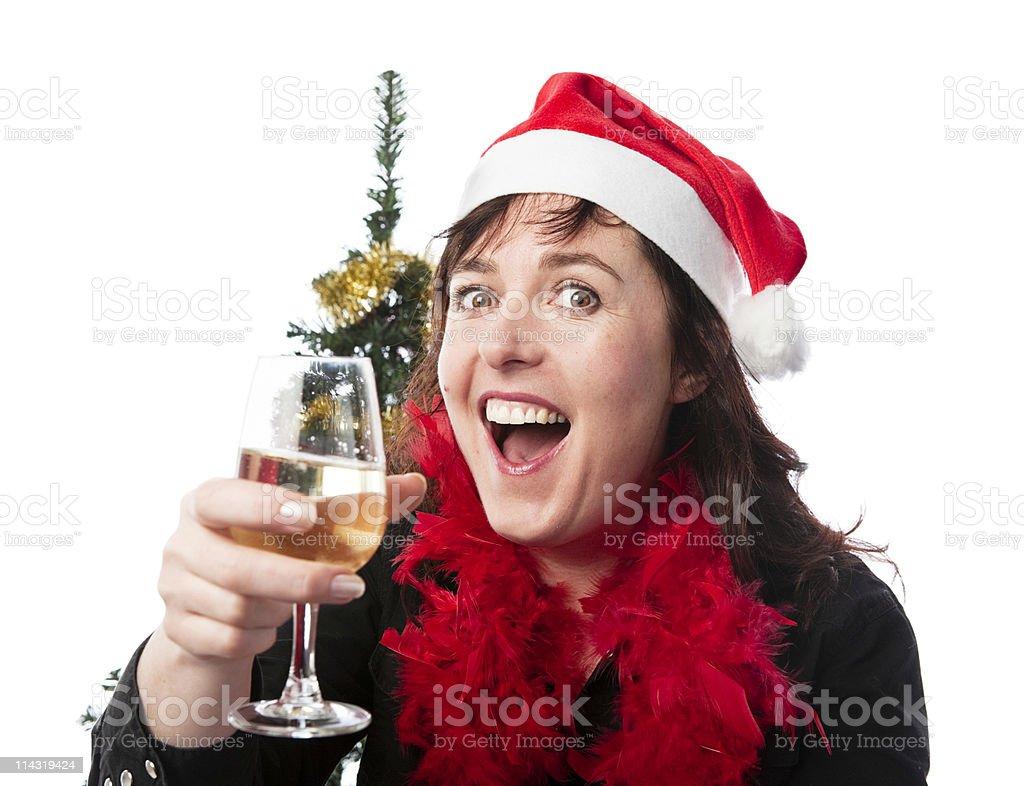 Christmas cheers! royalty-free stock photo