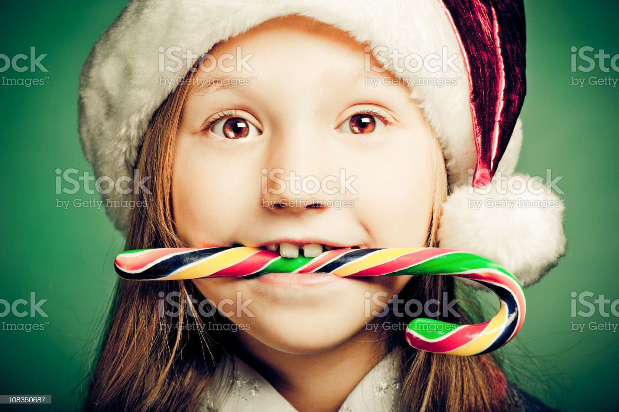 Christmas child royalty-free stock photo