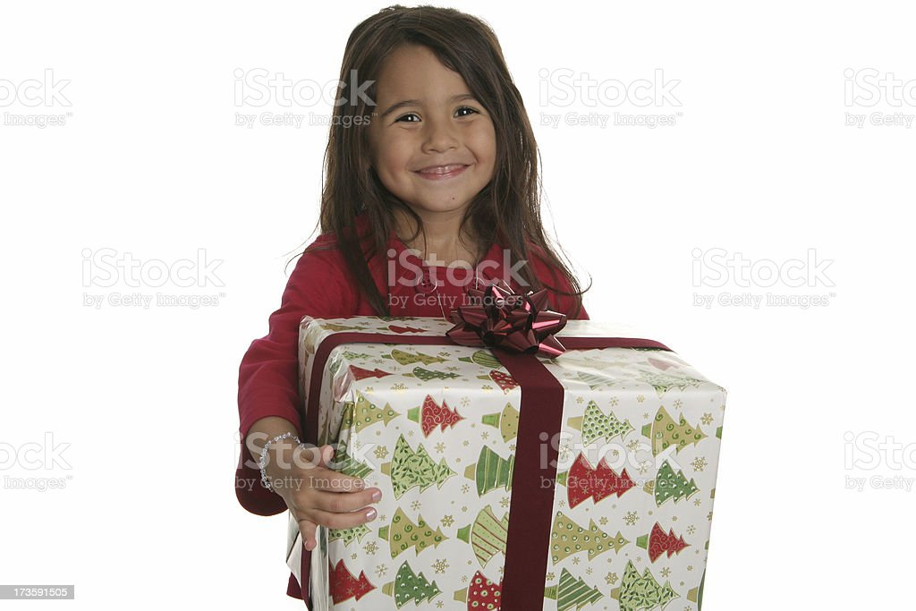 Christmas Child royalty-free stock photo