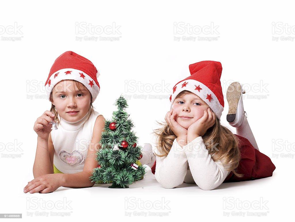 Christmas children royalty-free stock photo