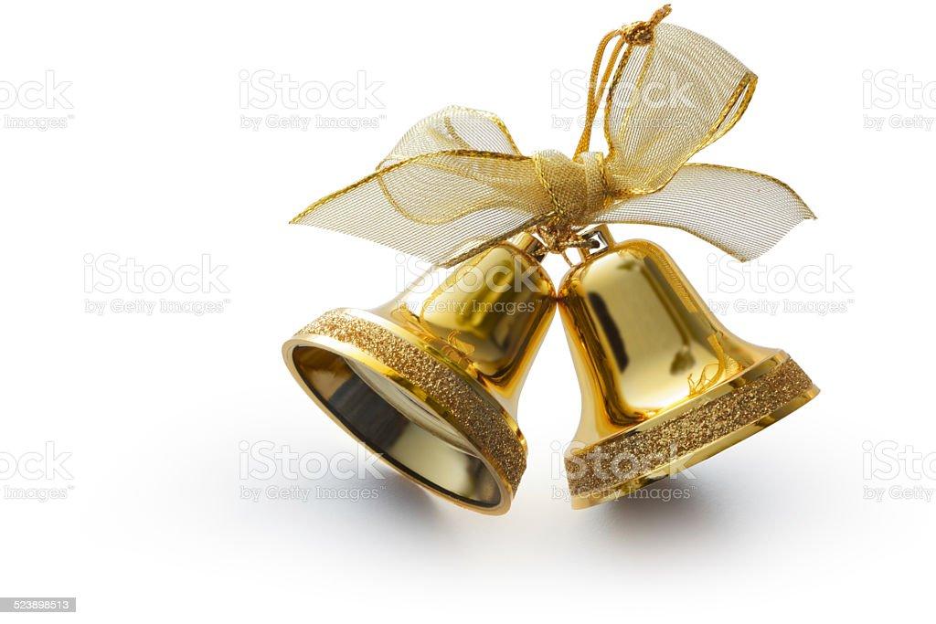 Christmas: Christmas Bells stock photo