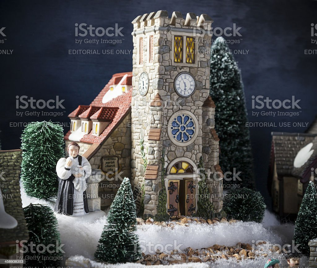 Christmas Church stock photo