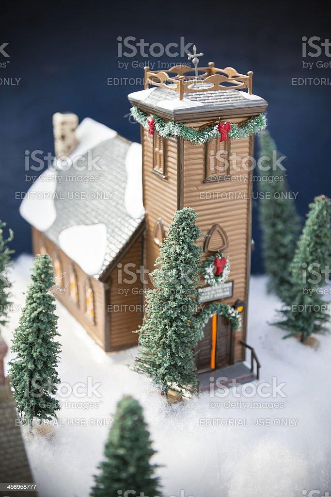 Christmas Church royalty-free stock photo