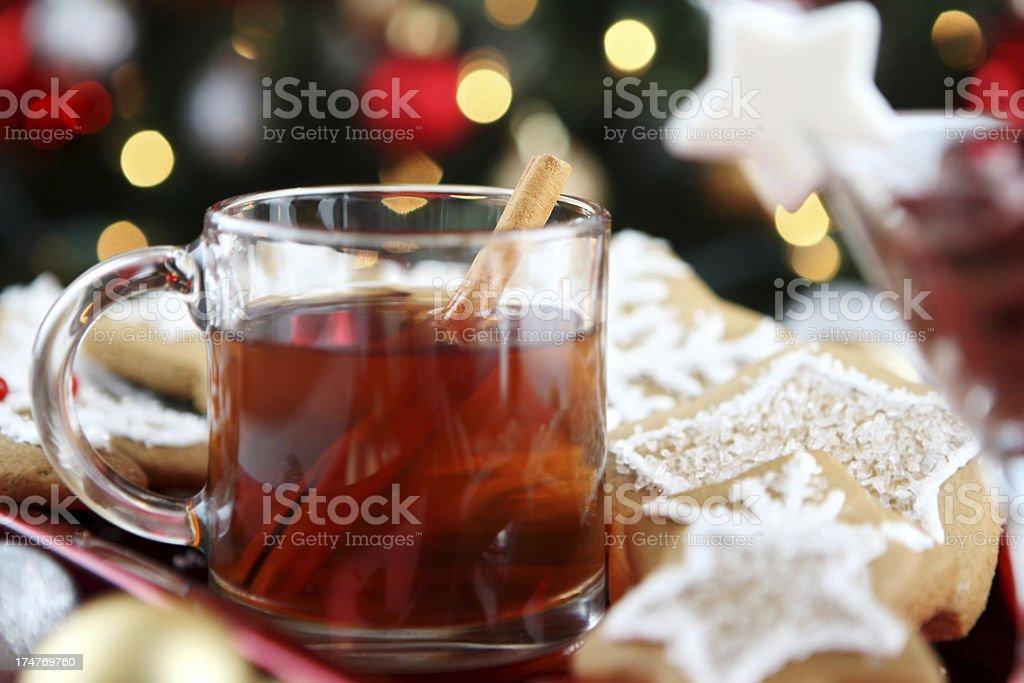 christmas cider royalty-free stock photo