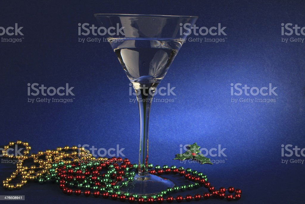 Christmas Cocktail royalty-free stock photo
