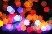 Christmas colors lights