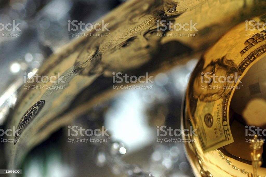 Christmas Commercialization royalty-free stock photo