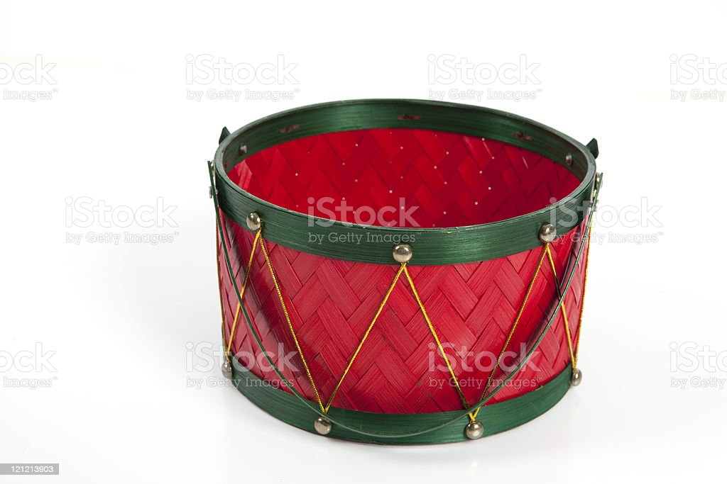 Christmas Container stock photo