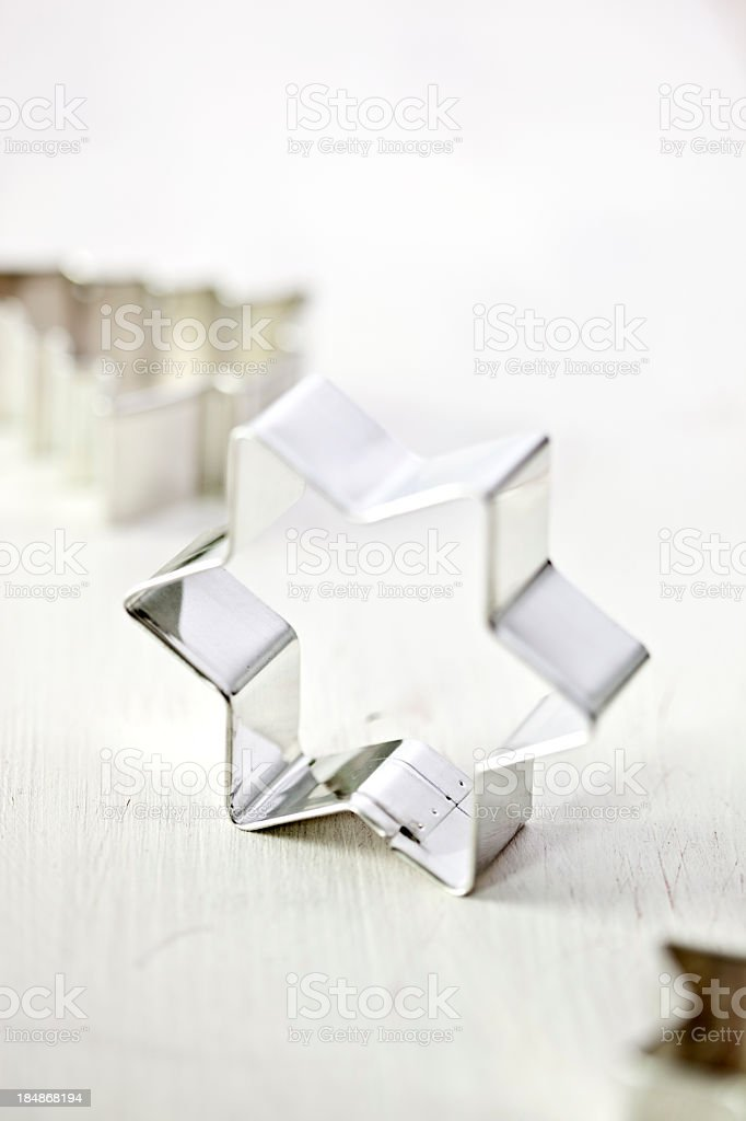 Christmas Cookie Cutters stock photo