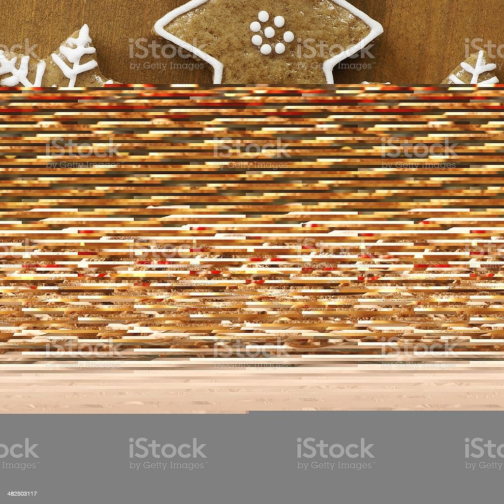 Christmas cookies and cakes royalty-free stock photo