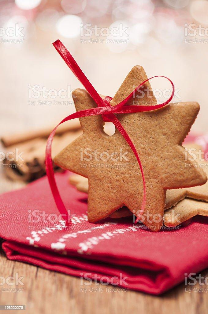 Biscoitos de Natal e especiarias foto royalty-free