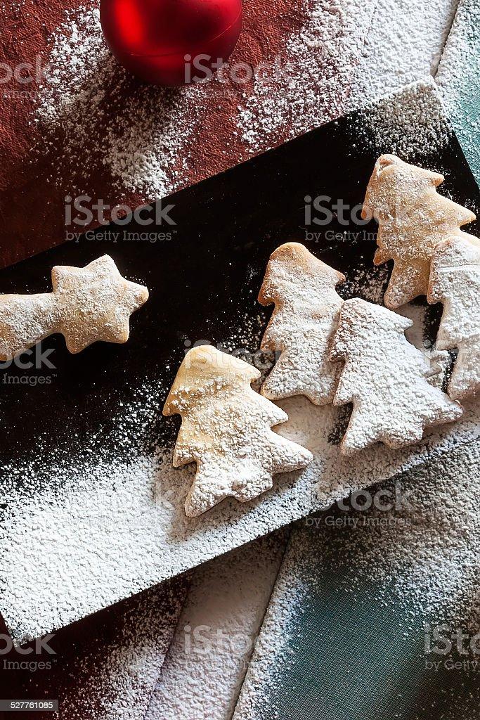 cookies composição de Natal foto royalty-free