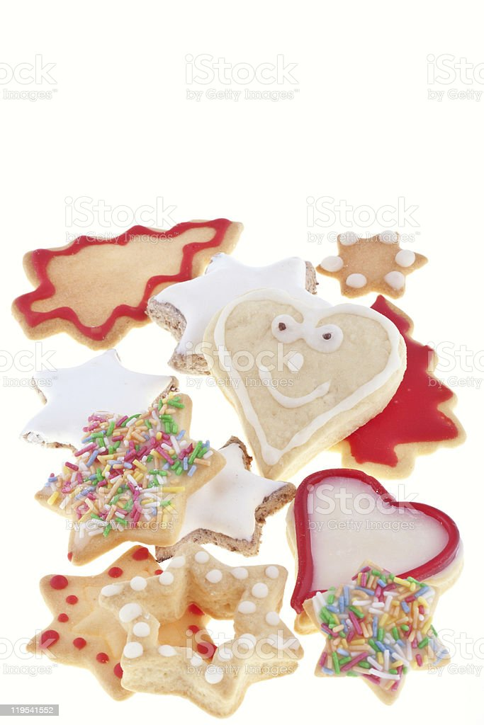 cookies de Natal foto de stock royalty-free