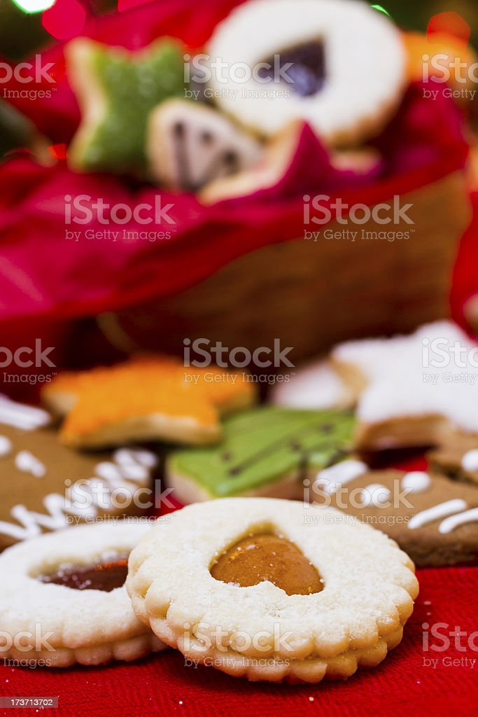 Christmas cookies royalty-free stock photo