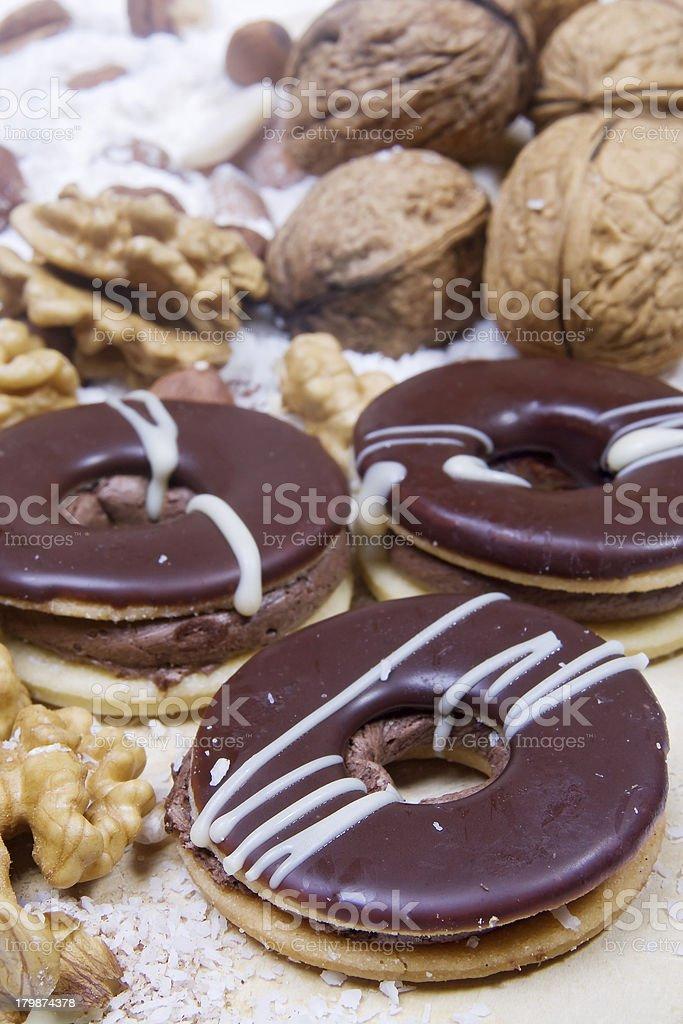 Christmas cookies royalty-free stock photo