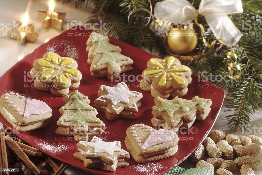 Рождественское печенье Стоковые фото Стоковая фотография