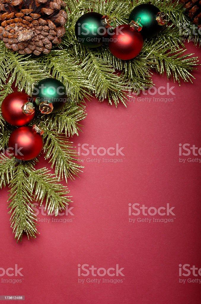 Christmas Corner royalty-free stock photo