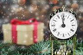 Christmas countdown: Midnight clock