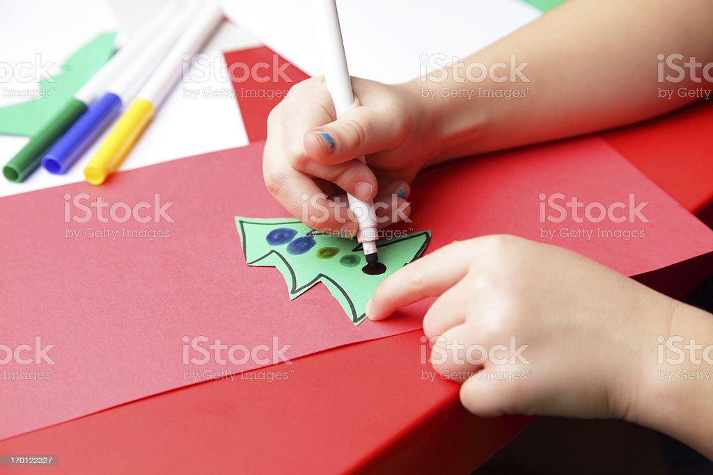 Christmas Craft stock photo