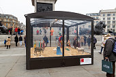Christmas Crib, London Trafalgar Square, by Tomoaki Suzuki.