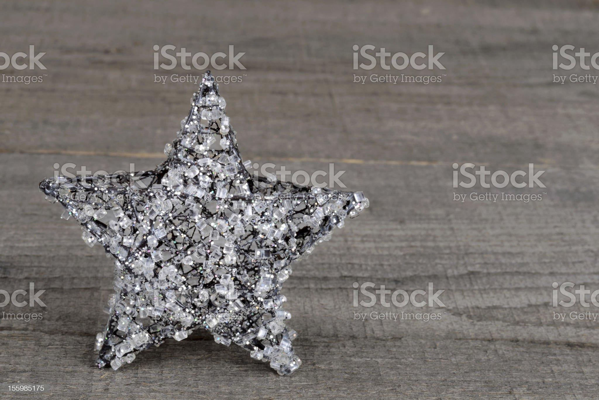 Christmas crystal star royalty-free stock photo