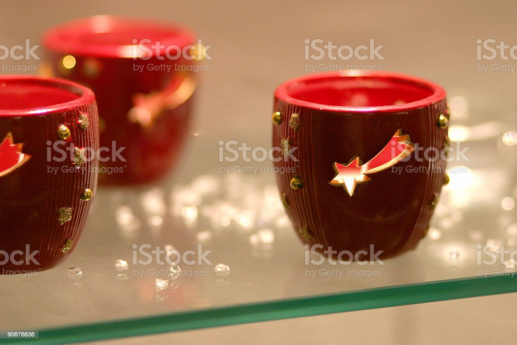 Christmas cups royalty-free stock photo