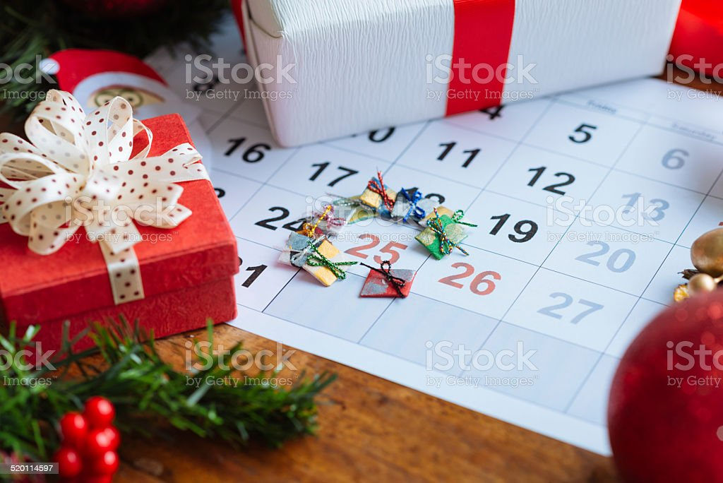 Christmas Day stock photo