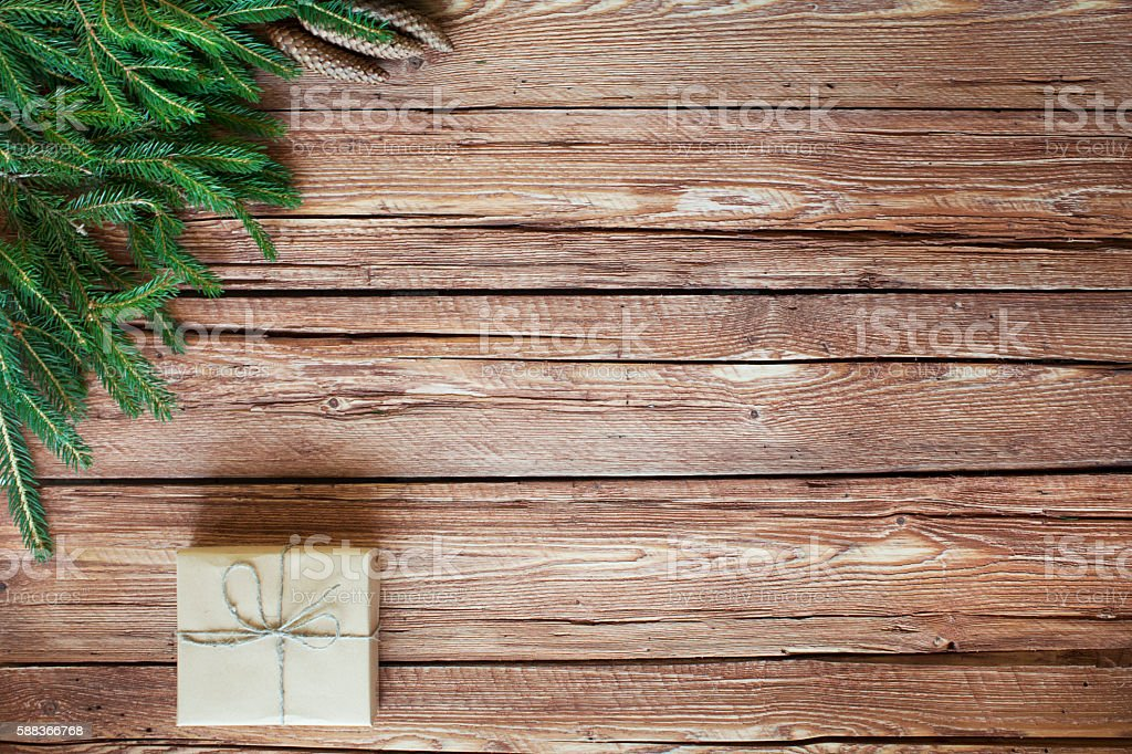 Christmas decor stock photo