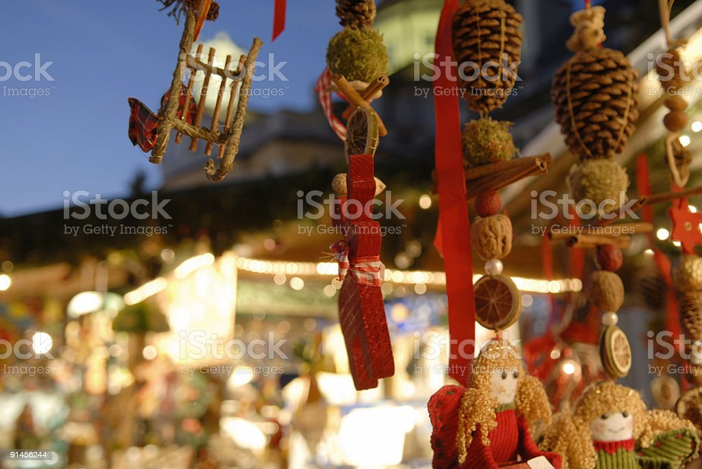 Christmas decorated royalty-free stock photo