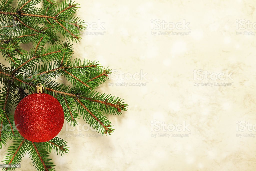 Christmas decoratin royalty-free stock photo