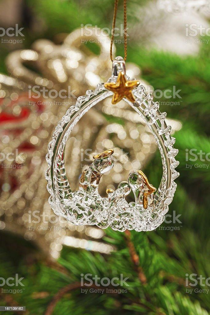 Christmas decoratin royalty-free stock photo