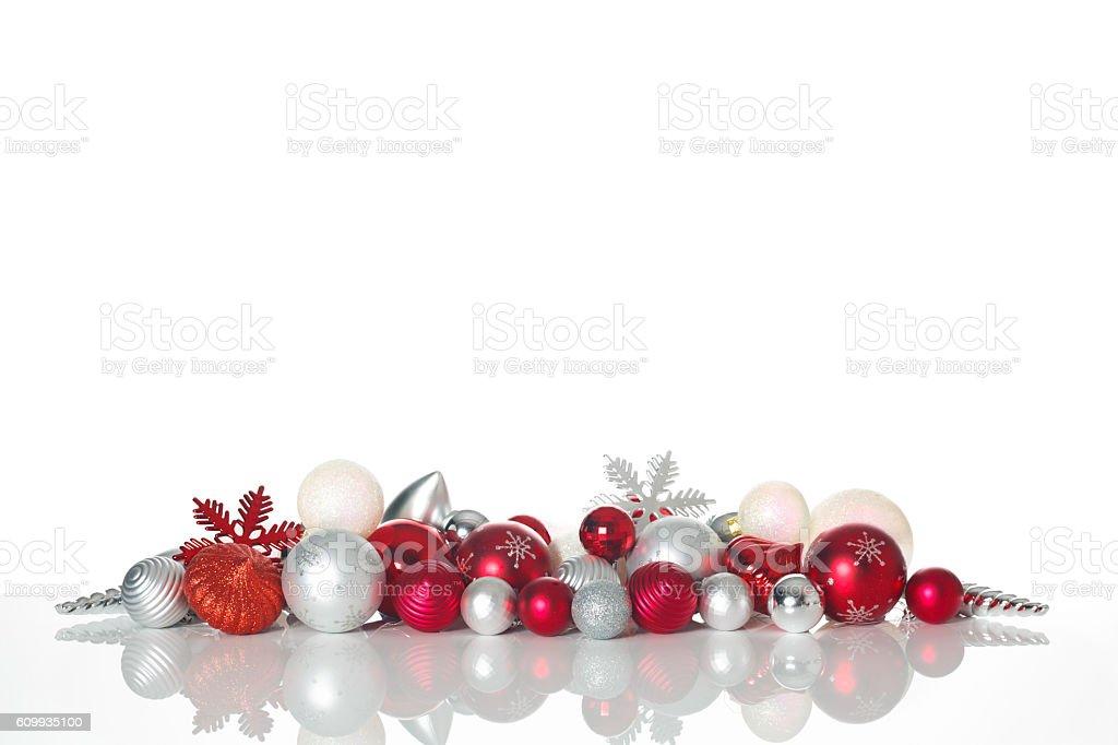 Christmas decoration - Background stock photo