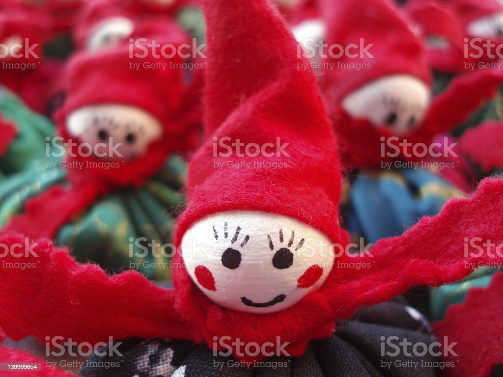 Christmas decoration figure royalty-free stock photo