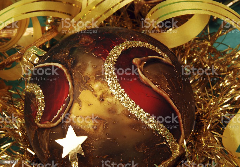 Christmas decoration in detail royalty-free stock photo