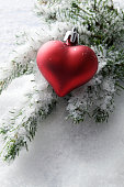 Christmas: Decoration in Snow