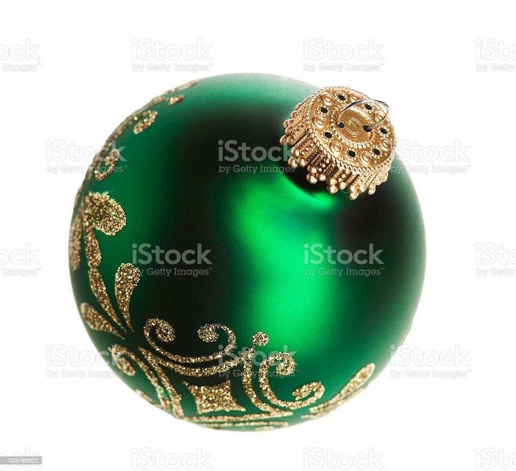 Decoração de Natal isolado em fundo branco foto de stock royalty-free