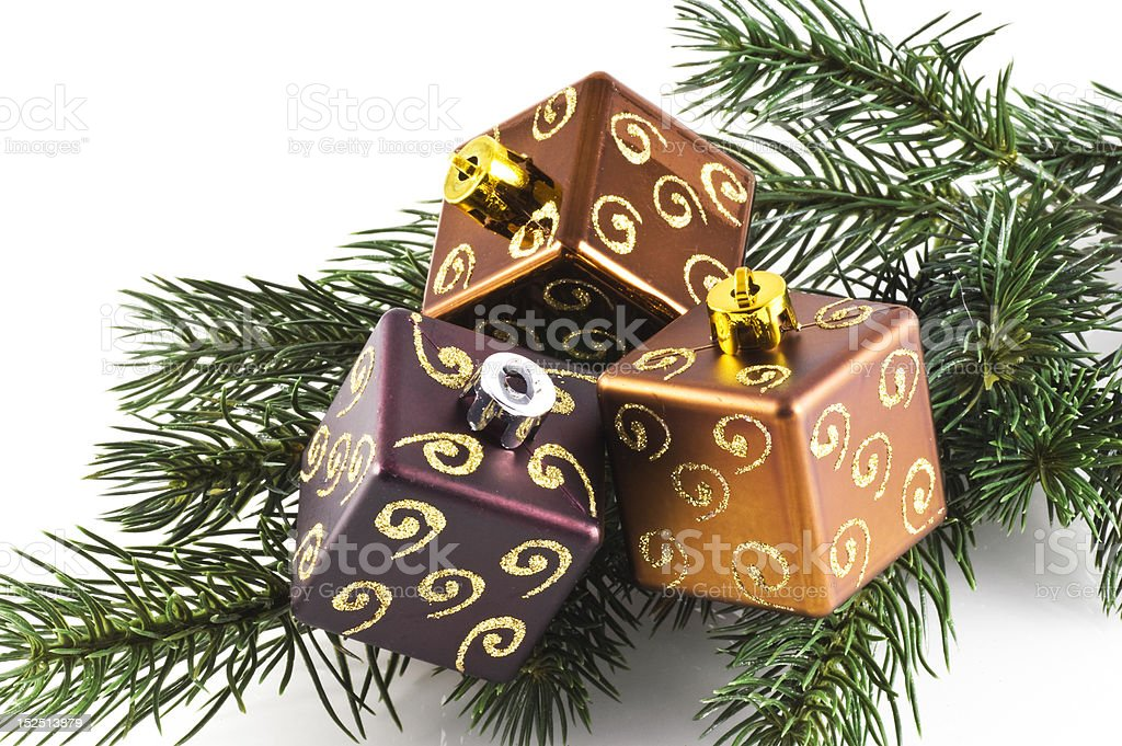Christmas decoration. stock photo