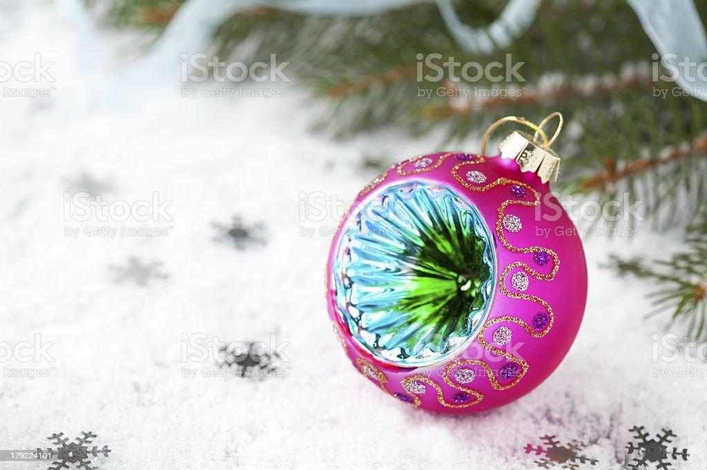 Decoração de Natal foto royalty-free