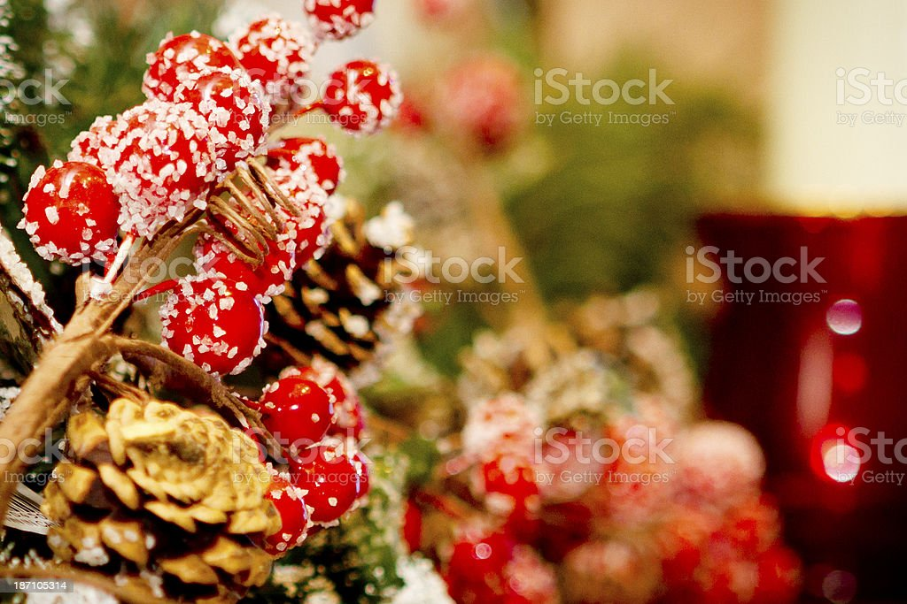 Christmas decoration. royalty-free stock photo