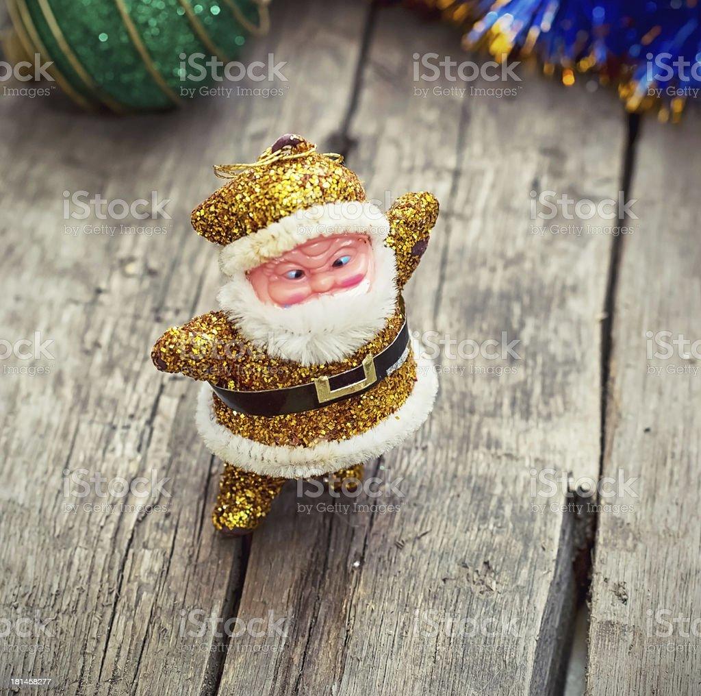 Christmas decoration Santa Claus royalty-free stock photo