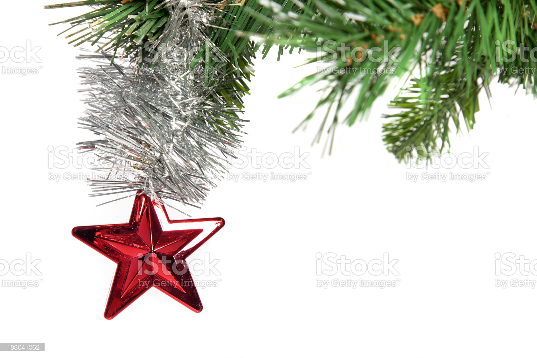 Christmas decoration series royalty-free stock photo