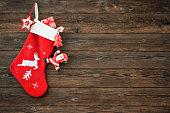 Christmas decoration stocking