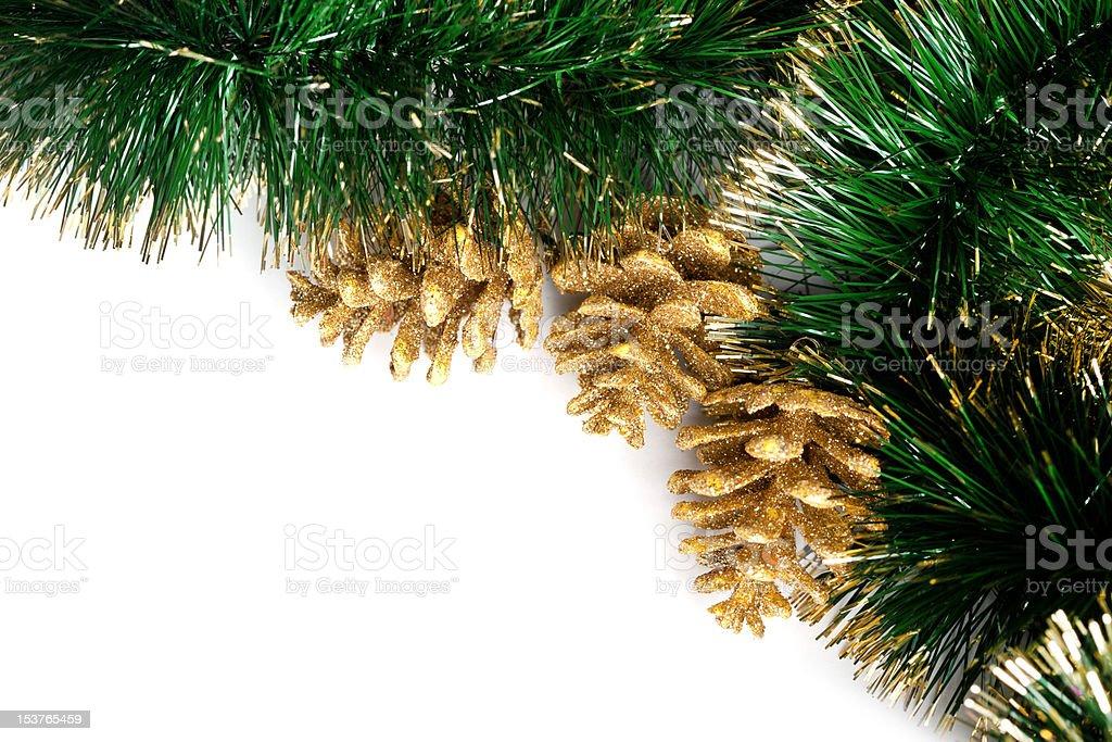Decoração festiva de Natal com Grinalda foto de stock royalty-free