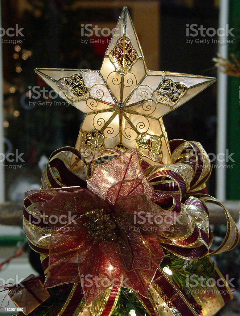 Christmas decorations closeup royalty-free stock photo