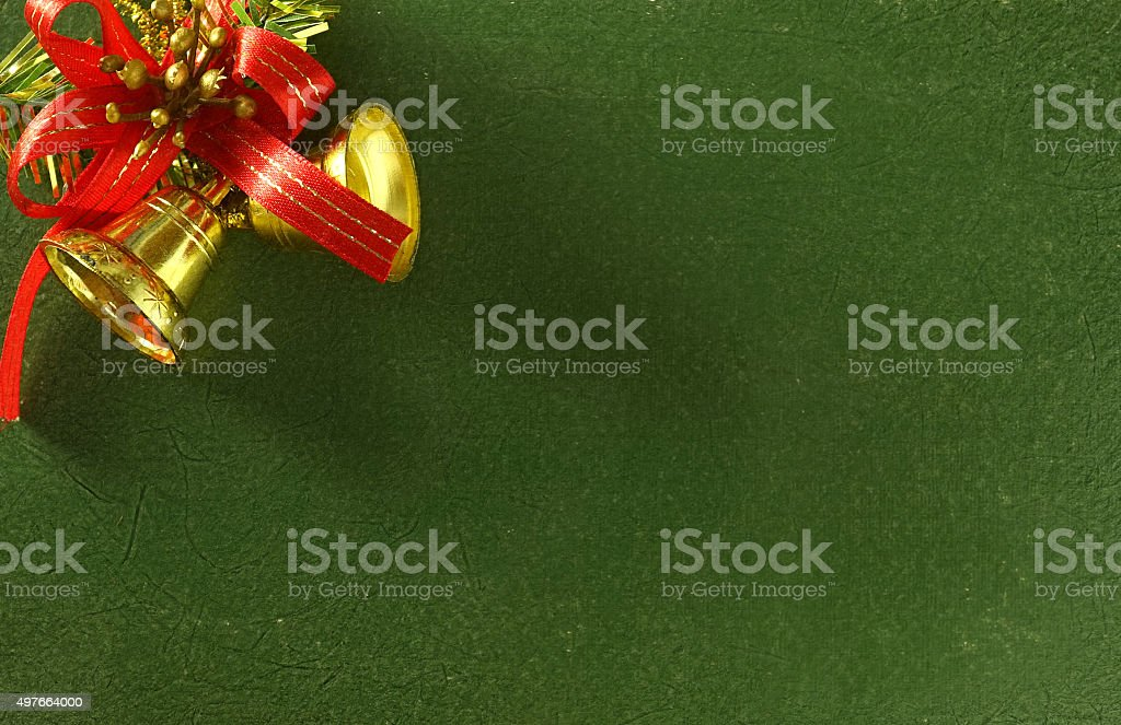 christmas decorations in vintage style stock photo