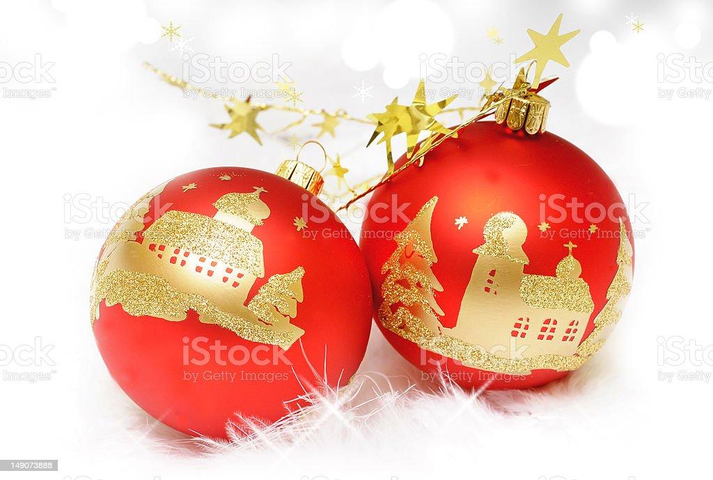 Boże Narodzenie dekoracje zbiór zdjęć royalty-free